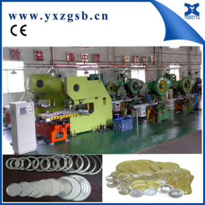 Automatic Low Speed Tin Can Cover Making Machine pictures & photos