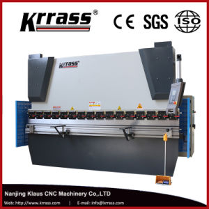 Wc67k-80t/3200 CNC Hydraulic Press Brake for Sheet Steel Bending pictures & photos