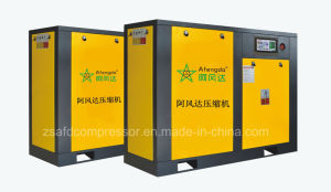 Afengda 50HP/37kw Industrial Oil Lubricated Twin-Screw Air Compressor pictures & photos