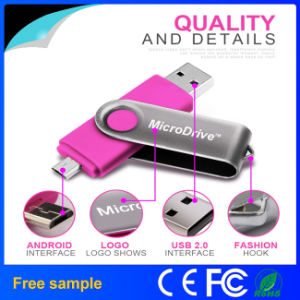 In Stock Swivel OTG USB Flash Drive with Free Sample pictures & photos