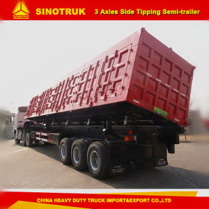 Sintruk 80t Tipping Semi Trailer Box / Tipping Trailer pictures & photos