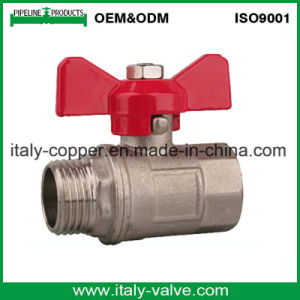 Male-Female Brass Forged Ball Valve/Bronze Ball Valve (AV1015) pictures & photos