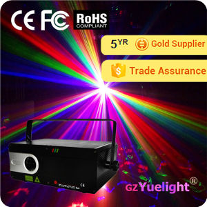 Guagnzhou Popular 1W Full Color Animation Laser Projector pictures & photos