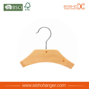 Eisho Suitable Perfect Wood Clothes Hanger for Coat pictures & photos