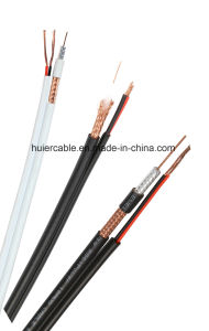 CCTV Rg59 Video Cable with Power Wires (2DC) for IP Camera pictures & photos