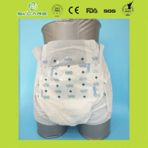 OEM Disposable PP Tape PE Backsheet Adult Diapers Pants pictures & photos