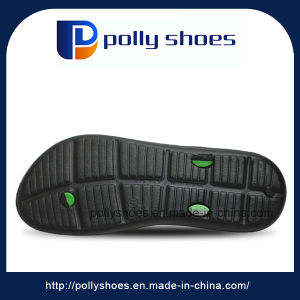 Thong Model Men House Slippers with EVA Sole Indoor Slipper pictures & photos