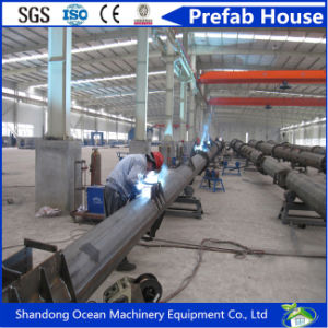 Hot Dipped Galvanized Tubular Steel Pole for Electric Power Transmission Distribution pictures & photos