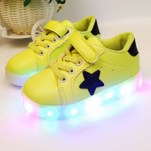 Boys and Girls Non - Slip Light Shoes, LED Flash Childrens Shoes pictures & photos