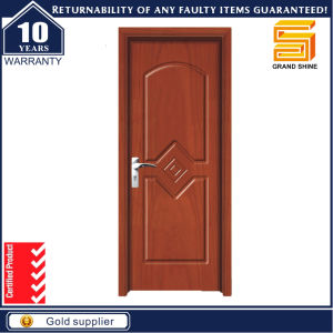 Alibaba Wood Glass Panel Exterior Solid Wooden Buidling Material Door pictures & photos