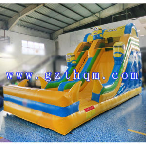Kids and Adults Inflatable Water Slide/Attractive Jumping Castle Inflatable Water Slide pictures & photos