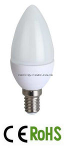 Plastic Plus Aluminum LED Candle Bulb Light pictures & photos