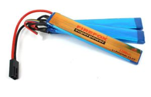 Firefox 11.1V 2400mAh Li-Po Li-Polymer Military Battery 20c Twins pictures & photos