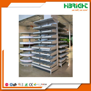 Drug Store Medical Shop Pharmacy Rack with Sloping Shelves pictures & photos
