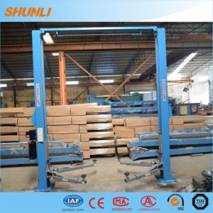 5000kg Double Hydraulic Two Columns Portable Car Lift Equipment pictures & photos