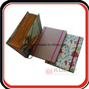 Custom Stationery Expandable Folder with Elastic Closure pictures & photos