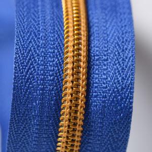 #5 Open End Golden Teeth Nylon Zippers pictures & photos