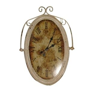 Antique Oval Decorative Clock Craft Wall Clock pictures & photos