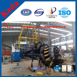 Water Capacity of 800-3000m3/H Hydraulic Cutter Suction Dredger Sand Gold Dredger pictures & photos
