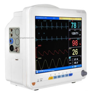 ICU Room Portable 15 Inch Multi-Parameter Hospital Patient Monitor pictures & photos