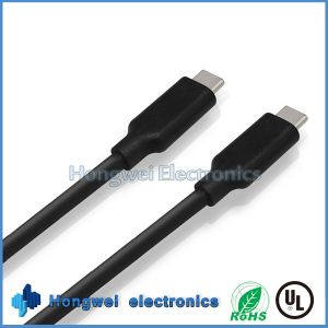 100W Superpower 10gbps Dual USB 3.1 Type C to Type C Data USB Cable pictures & photos