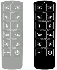 Customized Embossed Membrane Switch Overlay Panel for Computer and LCD Screen pictures & photos