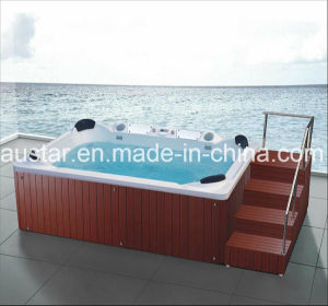 3560mm Square Free Standing Outdoor SPA for 8 Persons (AT-9007) pictures & photos