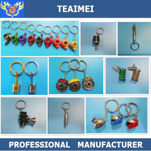 Promotio Customized Metal Car Logo Key Chains pictures & photos