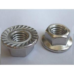 DIN6923 Hexagon Flange Nut Carbon Steel pictures & photos