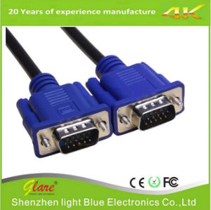 Hight Quality Blue Color Male to Male VGA Cable pictures & photos