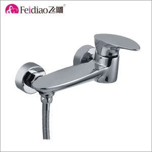 Modern Design High Quality Chorme Plated Brass Single Handle Shower Faucet
