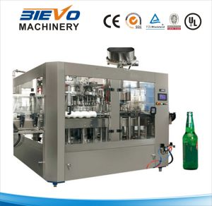 Beer Rinsing Filling Caping Machine for Glass Bottle pictures & photos