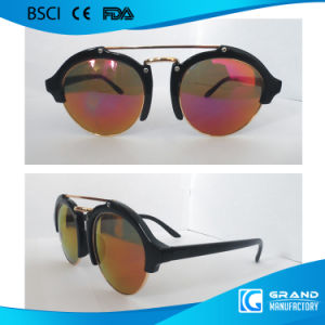 2017 New Design Round Frame Fancy Metal Sunglasses pictures & photos