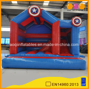 Popular Indoor Inflatable Jumping Bouncer Slide Combo for Sale (AQ0716-2) pictures & photos