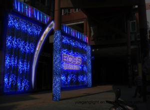 Outdoor/Wedding Decoration Curtain Lighting LED Christmas 2.5*2 360LED Curtain Waterfall Lights pictures & photos