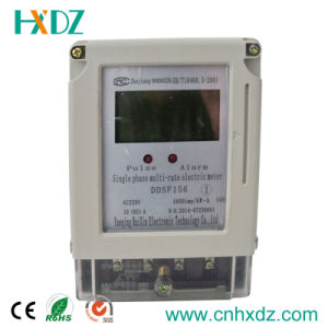 High Quality Single Phase Energy IC Card Electricity Prepayment Meter pictures & photos