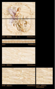 300X600mm Inkjet 6D Interior Wall Tile Porcelain Tile for Bathroom Decoration (004) pictures & photos