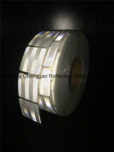 New Style Micro Prism White Retro Reflective Tape pictures & photos