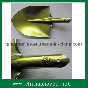 Shovel Golden Color Railway Steel Shovel Spade pictures & photos