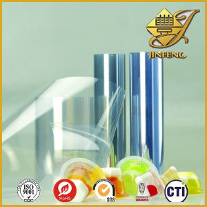 0.4mm Thin Clear Plastic PVC Film for Thermoforming pictures & photos