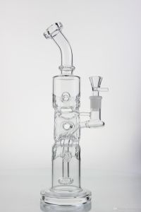 Recycler Oil Rigs Glass Water Pipe and Oil Rigs Glass Water Pipe with Round Cycler Good Recycler and Percolator
