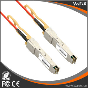 Network Product Premium QSFP+ to QSFP+ Active Optical Cable Compatible 10m pictures & photos