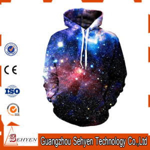 Amazon Hot Sales Custom Design Unisex 3D Print Sublimation Hoodies pictures & photos