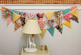Bedroom Furnishings and Eco-Friendly Reusable Fabric Bunting Flags pictures & photos