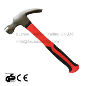 Claw Hammer with Rubber Handle pictures & photos