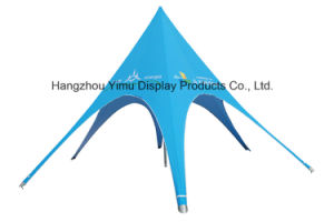 Waterproof Star Tent Single Pole /Double Poles Star Shade for Event pictures & photos
