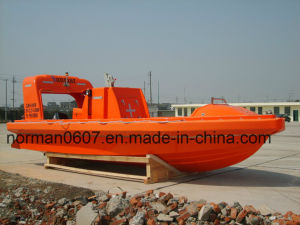 Solas 15persons Working Boat, Marine Rescue Boat, F. R. P. Lifesaving Boat pictures & photos