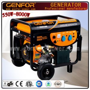 Hot Sale 100% Copper Wire 3.0/4.0/5.0/6.0/7.0/8.0kw Portable Power Industrial Gasoline Generator Alternator