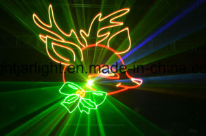 2W Hot Sell RGB Full Color Animation Laser Light  pictures & photos
