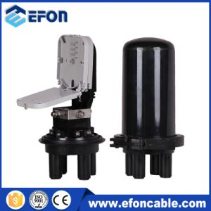 Dome Type Mechanical Sealing Method up to 48 Cores Fiber Optic Splice Closure pictures & photos